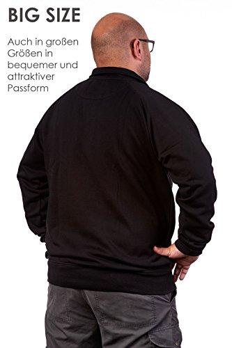 4407ba3eb2d706 Happy Clothing Herren Pullover Halber Reißverschluss Ohne Kapuze. Previous  Next
