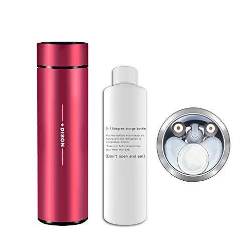 Dison Cooler Bag, Portable Mini Fridge, Insulin Pen Cooler Refrigerator Insulin CoolerMedical Mini Refrigerator Red