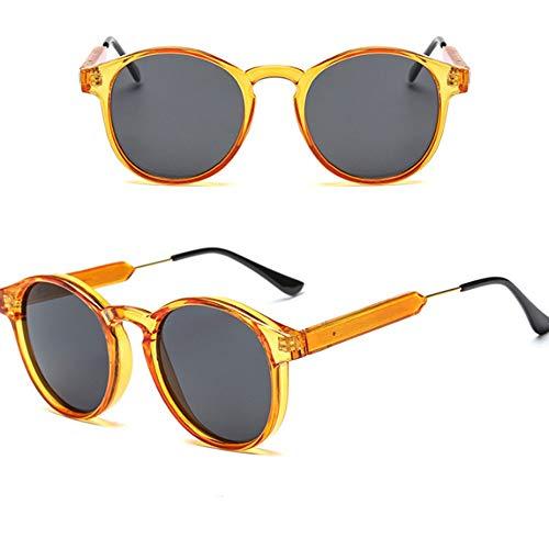 YUHANGH Retro Klassische Sonnenbrille Frauen Runde Form Mode Sonnenbrillen Frauen Preis Sonnenbrille Mädchen