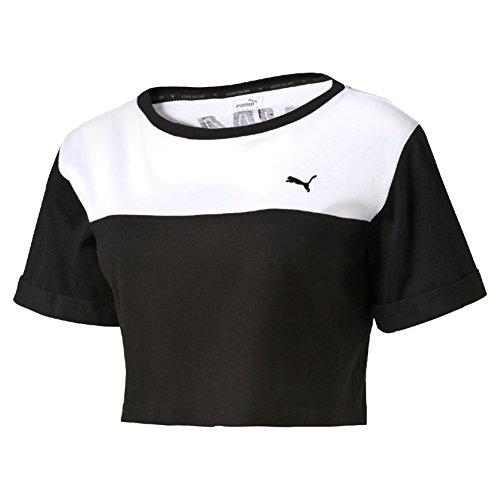 Puma Style Swagger Crop Top w noir