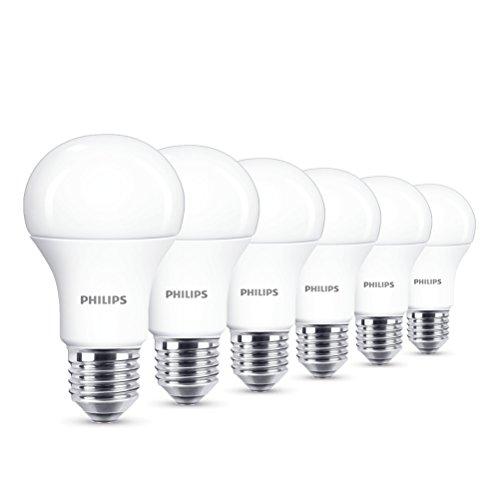Philips 8718696577035 EEK A+ LED Lampe, 13W (ersetzt 100W), E27, Warmweiß (2700 Kelvin), 6-er Pack