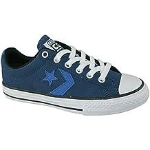 Zapatilla Converse jr Star Player EV Navy-Oxygen Blue-White