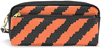 Trousse, Bennigiry citrouille d'Halloween Texture cuir PU Grande capacité pour stylo Organiseur de bureau avec fermeture à glissière pour l'école et fournitures de bureau – 20 x 5,5 x 8,5 cm B07HF6YBN3 | Outlet Online