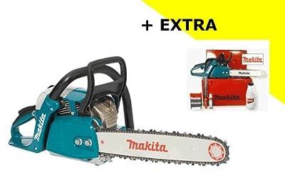 MAKITA Motor-Kettensäge EA 4300-38 KIT im KOFFER | 2.2kW (3,0PS) 38cm Schwert + 2. Sägekette