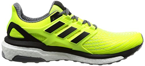 adidas Energy Boost M, Chaussures de Running Homme Multicolore (Solar Yellow/core Black/grey Four F17)