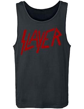 Slayer Logo Camiseta Tirantes Negro