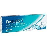 Dailies Aquacomfort Plus, 10er Plus Tageslinsen weich, 10 Stück / BC 8.70 mm / DIA 14.00 mm / -2.25 Dioptrien