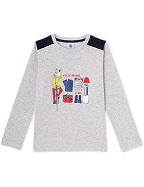 Petit Bateau Jungen Langarmshirt T Shirt Ml