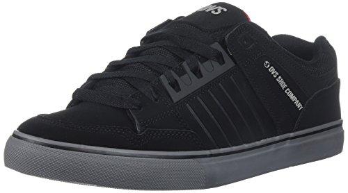 DVS Shoes Herren Celsius CT Skateboardschuhe, Schwarz Schwarz (Black Charcoal Red Nubuck Deegan 005)