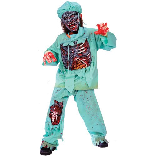 Funworld zombie doctor costume–ragazzi
