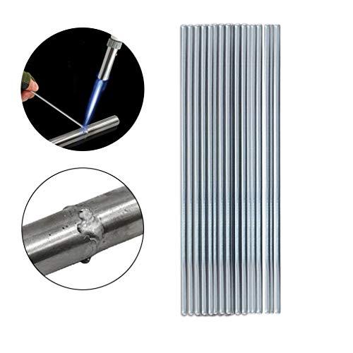 Universal Niedertemperatur Aluminium Schweißstab mit Aluminium Flux Kerndraht Niedrigen Stabelektroden Temperatur Aluminium Elektroden Tun Nicht Erfordern Solder (50X0.16cm-10PCS) -