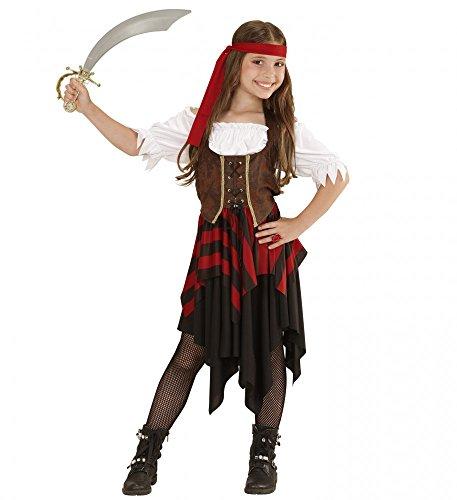 shoperama Piratin-Kostüm für Mädchen Kinder-Kostüm Piratenmädchen Piratenkostüm Teenager Pirat, Kindergröße:158 - 11 bis 13 Jahre