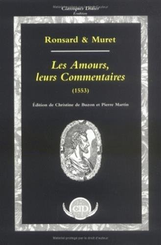 Les Amours, leurs commentaires (inclus cahier musical)