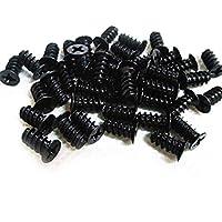 Easycargo - Juego de 50 Tornillos para Ventilador de PC, Tornillos para Ventilador de 80 mm, 92 mm, 120 mm, 140 mm (50 Unidades)