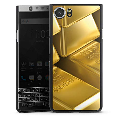 DeinDesign BlackBerry KeyOne Hülle Case Handyhülle Goldbarren Gold Barren