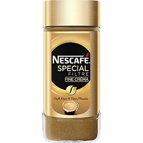 Nescafé - Café Noir Fine Mousse Fine Créma - 100G - Lot De 3 - Livraison Rapide en France - Prix Par Lot