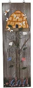 Garten Dekoration wl901Holzschild, 48,3cm, multicolor