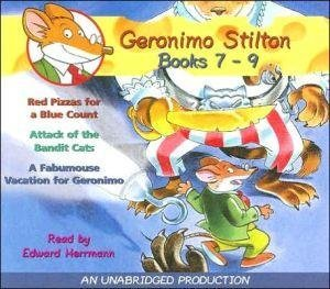 [Geronimo Stilton: Books 7-9: #7: Red Pizzas for a Blue Count; #8: Attack of the Bandit Cats; #9: A Fabulous Vacation for Geronimo] (By: Geronimo Stilton) [published: July, 2005]