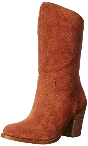 Lucky Brand Embrleigh Rund Wildleder Mode Mitte Calf Stiefel Chipmunk