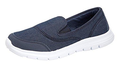 Dek, Scarpe da camminata donna, blu (Dark Denim), 40