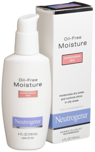 Neutrogena Oil-Free Moisture Combination Skin, 4Oz -Pack of 2