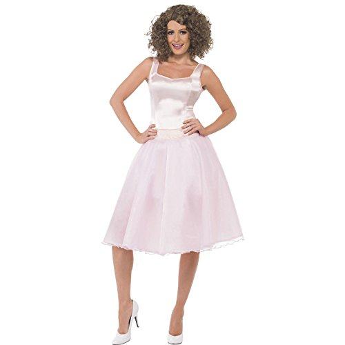 Kostüm Dirty Kleid Dancing (Smiffys, Damen Dirty Dancing Baby Kostüm, Kleid und Perücke, Größe: S,)