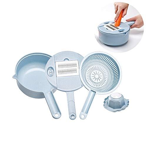 Stoge Gemüsehacker, Spiralhacker, Multifunktions-Küchenschneider, Verstellbar, Käsereibe,...
