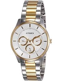 Citizen Analog White Dial Men's Watch - AG8358-52A