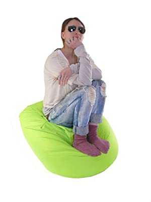 Large Indoor/Outdoor Bean Bag With Beans