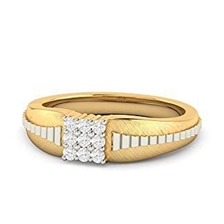 PC Jeweller The Zavian 18KT Yellow Gold & Diamond Rings