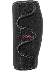 Opro Adjustable Calf Support, Unisex Adulto, Black, One Size