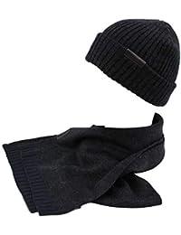 GIANMARCO VENTURI Set sciarpa e cappello uomo 100% acrilico in box 71800  grigio edf7aba50f34