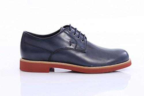 scarpe-tods-allacciate-in-pelle-blu-uomo-taglia-10