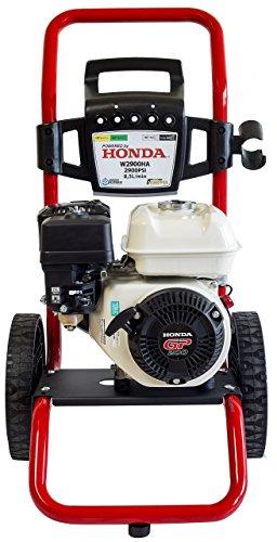WASPPER ✦ Honda GP 200-2900 PSI Benzin-Hochdruckreiniger ✦ 196 ccm mit Hochdruck-Power Jet Professional W2900HA Tragbarer Hochdruckreiniger für Autos und Terrassen