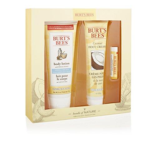 Burt's Bees Päckchen der Natur Geschenkset, 1er Pack (1 x 3 Stück)