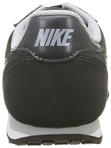 Nike Wmns Genicco, Scarpe sportive, Donna Black/Anthracite-Wlf Gry-White