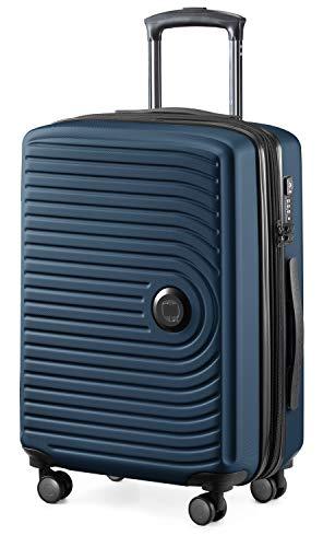 HAUPTSTADTKOFFER – Mitte – Kabinentrolley 55cm, mittelgroßer Koffer 69cm und großer Reisekoffer 76cm, Hartschale ABS, TSA