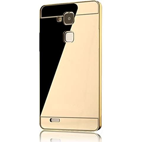 Huawei Ascend Mate 7 Custodia, Sunroyal® Ultra Sottile Metallo Case