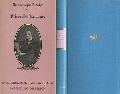 Die sämtlichen Gedichte der Friederike Kempner. Mit einem Nachwort von Peter Horst Neumann. (= Sammlung Dieterich, Bd. 291).
