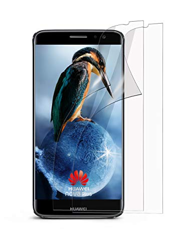moex 2X Huawei Nova Plus | Schutzfolie Klar Bildschirm Schutz [Crystal-Clear] Screen Protector Display Handy-Folie Dünn Bildschirmschutz-Folie für Huawei Nova Plus Bildschirmfolie