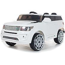 4x4 Blanc Sport Coupe 12V Style Range - Voiture Electrique Pour Enfants 9c6342f61358
