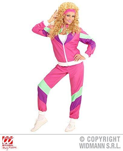 Kostüm 80er Jahre Dame Trainingsanzug Gr. S Damenkostüme 80ties
