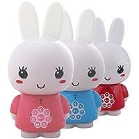 Alilo Honey Bunny Edutainment für Ihr Kind - Mediaplayer - inkl. ausgesuchter Geschichten und Lieder) Babyspielzeug Nachtlicht Einschlafhilfe Storyteller