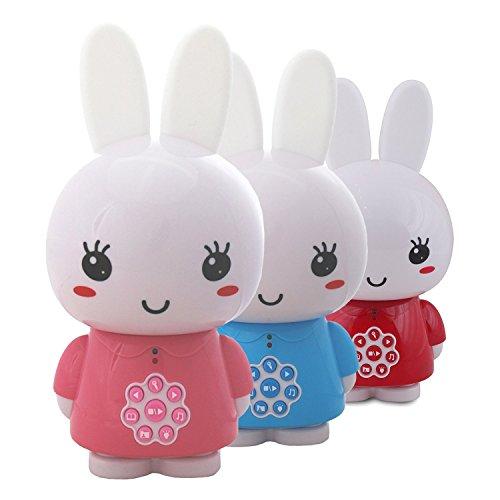Alilo Honey Bunny Edutainment für Ihr Kind - Mediaplayer - inkl. ausgesuchter Geschichten und Lieder) Babyspielzeug Nachtlicht Storyteller Einschlafhilfe - Pink