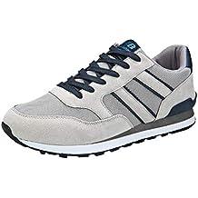 Zapatillas Deportivas Casuales de Moda para Hombre Gimnasia Ligero Sneakers Running Zapatos para Correr Gimnasio Sneakers