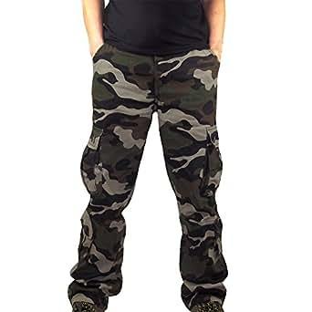 f47dc156b3eb Bovake Herren Nähen Hose Sport Slim Chino Pants Moderne Stoffhose,  Baumwollhose für Männer, Freizeithose Regular fit ...