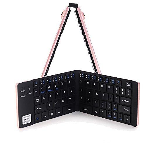 Hahap mechanische Gaming-Tastatur, LED, Hintergrundbeleuchtung, kabelgebunden, für PC, Laptop, GD rosa Rose - Touchpad Bluetooth-tastatur Hp