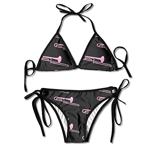 Women Sexy Swimwear Adjustment Trombone Cool Boxing Bikini Set Swimsuits 2 Piece Bikinis -
