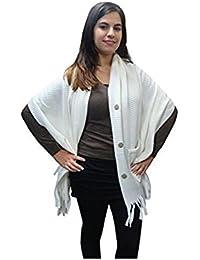 holiday suitcase-Ladies winter fleece shawl
