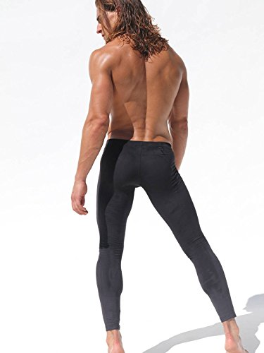 Rufskin Uomo Designer Sports Collant Nero